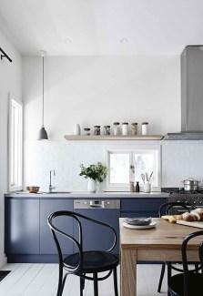 Wonderful Blue Kitchen Design Ideas41