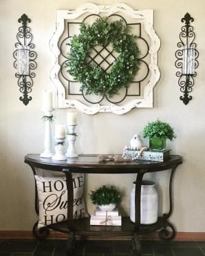 Wonderful Farmhouse Decor Ideas With Beautiful Greenery17