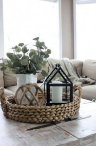 Wonderful Farmhouse Decor Ideas With Beautiful Greenery19
