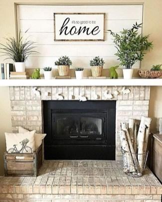 Wonderful Farmhouse Decor Ideas With Beautiful Greenery35