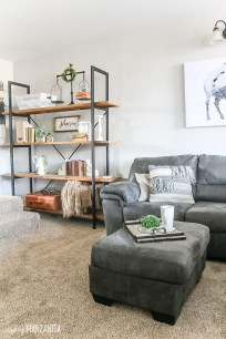 Wonderful Industrial Rustic Living Room Decoration Ideas You Have Must See01