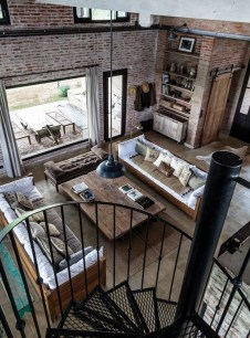 Wonderful Industrial Rustic Living Room Decoration Ideas You Have Must See03