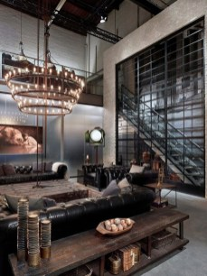 Wonderful Industrial Rustic Living Room Decoration Ideas You Have Must See05