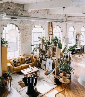 Wonderful Industrial Rustic Living Room Decoration Ideas You Have Must See08