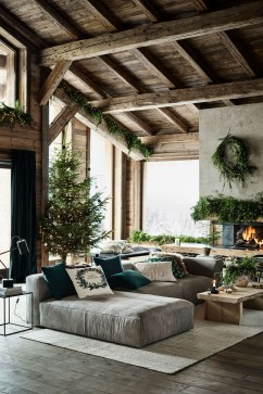 Wonderful Industrial Rustic Living Room Decoration Ideas You Have Must See33