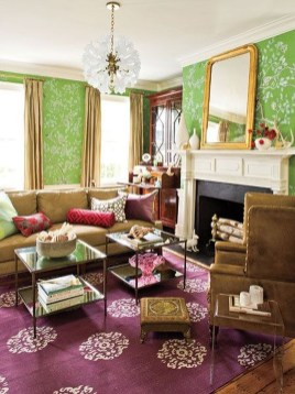 Wonderful Living Room Rug Layering Combination For Sweet Home09