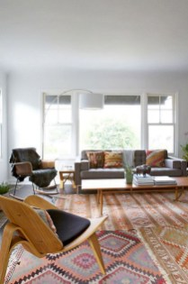 Wonderful Living Room Rug Layering Combination For Sweet Home10