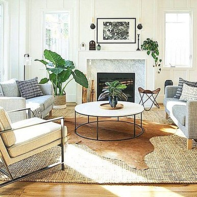 Wonderful Living Room Rug Layering Combination For Sweet Home16