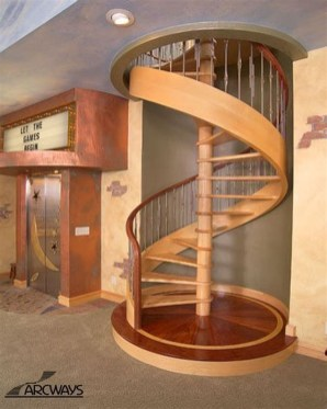 Wonderful Staircase Design Ideas That Inspires Living Room Ideas08