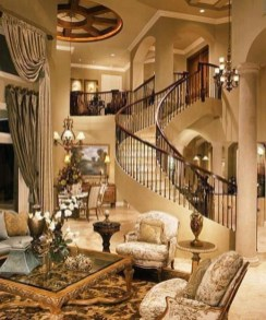Wonderful Staircase Design Ideas That Inspires Living Room Ideas30
