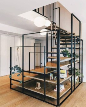 Wonderful Staircase Design Ideas That Inspires Living Room Ideas35