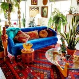 Awesome Bohemian Living Room Decor Ideas03