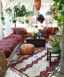 Awesome Bohemian Living Room Decor Ideas12