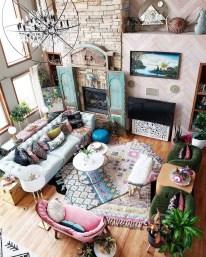 Awesome Bohemian Living Room Decor Ideas13