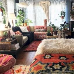 Awesome Bohemian Living Room Decor Ideas18