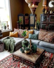 Awesome Bohemian Living Room Decor Ideas22
