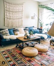 Awesome Bohemian Living Room Decor Ideas30