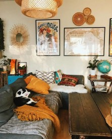 Awesome Bohemian Living Room Decor Ideas37