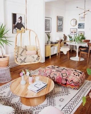 Awesome Bohemian Living Room Decor Ideas42