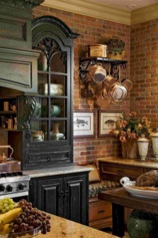 Cool French Country Kitchen Decorating Ideas20