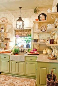 Cool French Country Kitchen Decorating Ideas32