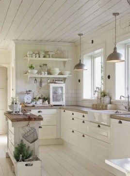 Cool French Country Kitchen Decorating Ideas35