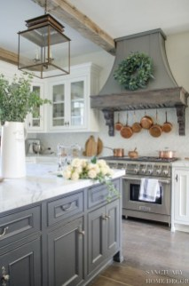 Cool French Country Kitchen Decorating Ideas40