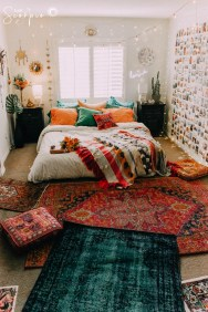 Cozy Diy Bohemian Bedroom Decor Ideas02