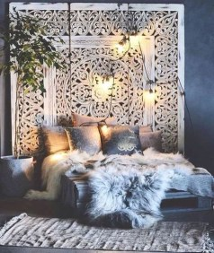 Cozy Diy Bohemian Bedroom Decor Ideas03