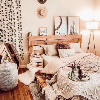 Cozy Diy Bohemian Bedroom Decor Ideas14