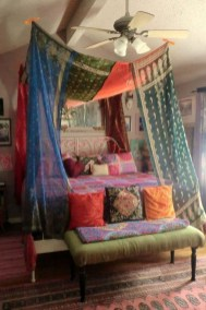 Cozy Diy Bohemian Bedroom Decor Ideas20