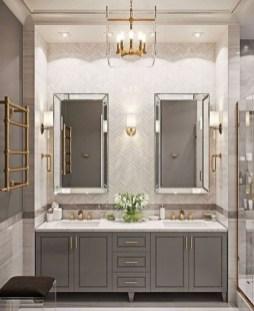 Elegant Bathroom Sink Decorating Ideas For Bathroom16