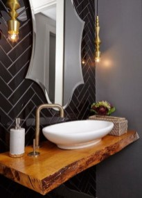 Elegant Bathroom Sink Decorating Ideas For Bathroom37