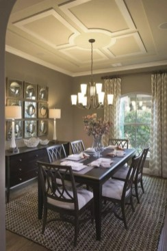 Elegant Small Dining Room Decorating Ideas17