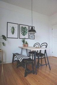 Elegant Small Dining Room Decorating Ideas20
