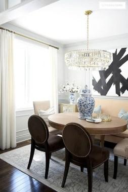 Elegant Small Dining Room Decorating Ideas25