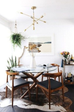 Elegant Small Dining Room Decorating Ideas26