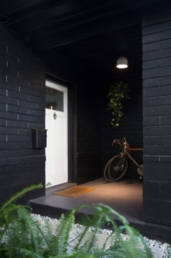 Incredible Homes Decorating Ideas With Black Exteriors08