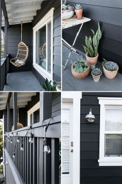 Incredible Homes Decorating Ideas With Black Exteriors13