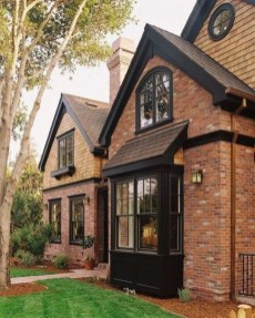 Incredible Homes Decorating Ideas With Black Exteriors14