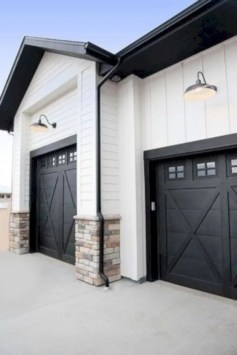 Incredible Homes Decorating Ideas With Black Exteriors16