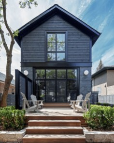 Incredible Homes Decorating Ideas With Black Exteriors49