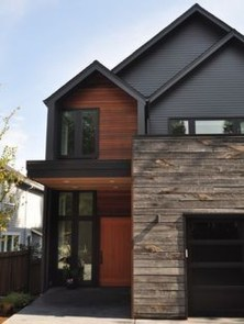 Incredible Homes Decorating Ideas With Black Exteriors50