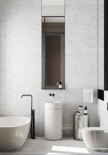 Minimalist Bathroom Bathtub Remodel Ideas22