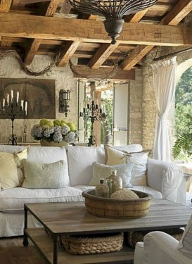 Perfect French Country Living Room Design Ideas06