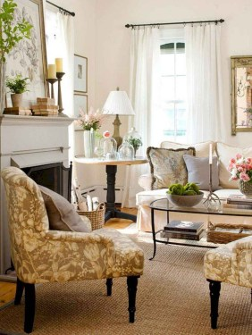 Perfect French Country Living Room Design Ideas07