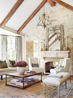 Perfect French Country Living Room Design Ideas14