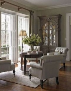 Perfect French Country Living Room Design Ideas22