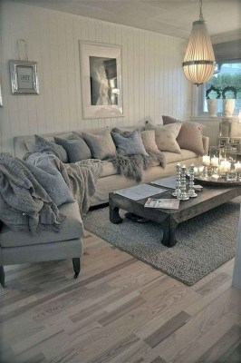 Perfect French Country Living Room Design Ideas26