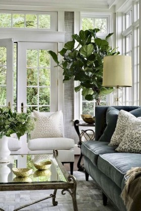 Perfect French Country Living Room Design Ideas33